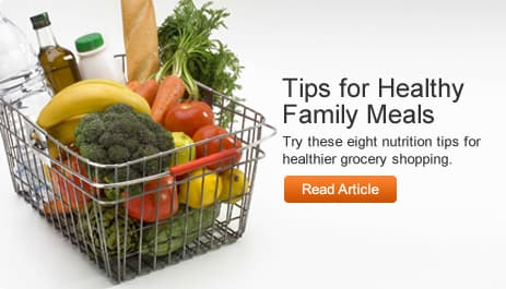 Tips for Healthy Family Meals