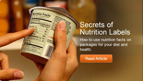 Secrets of Nutrition Labels
