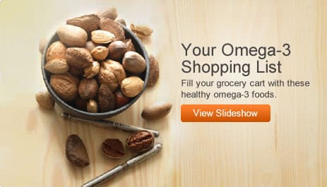 Your Omega-3 Shopping List