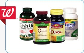 Questions about Vitamins and Supplements? Walgreen