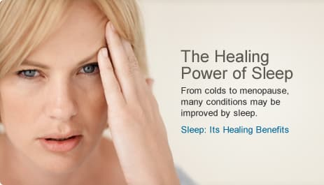 Sleeps Healing Benefits