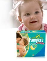 welcome beautiful mornings Pampers Baby Dry