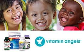 Get vitamins here. Change lives everywhere.