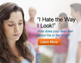 How does your teen feel about his or her body