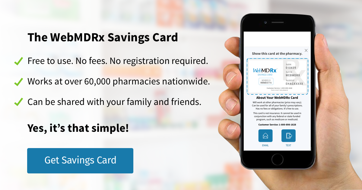 prescription prices and pharmacy discounts with the webmdrx savings card - Best Prescription Discount Card Reviews