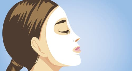 skin mask illustration