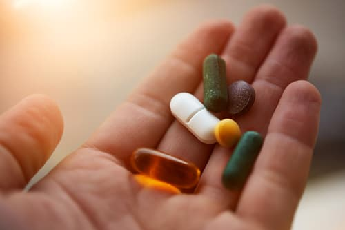 photo of supplements