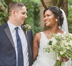 Alex McCray and husband