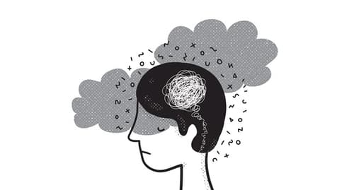 confused person illustration
