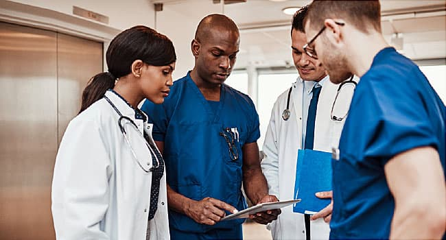 doctors consulting with each other