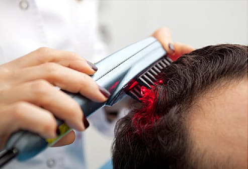 Care For Thinning Hair Tricks Guys Can Use For Thicker Looking Locks