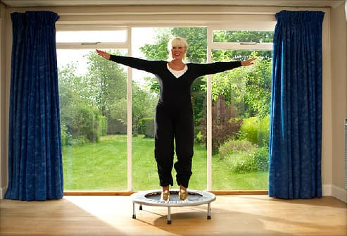 The Trampoline Workout