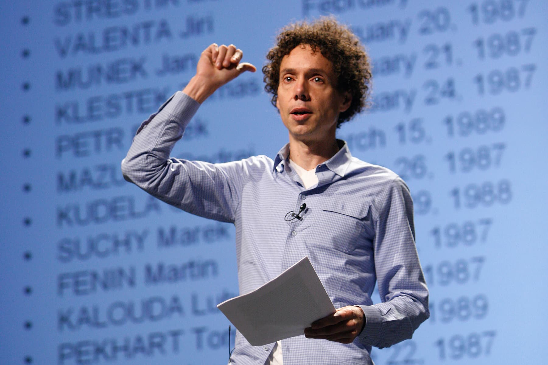 photo of Malcolm Gladwell