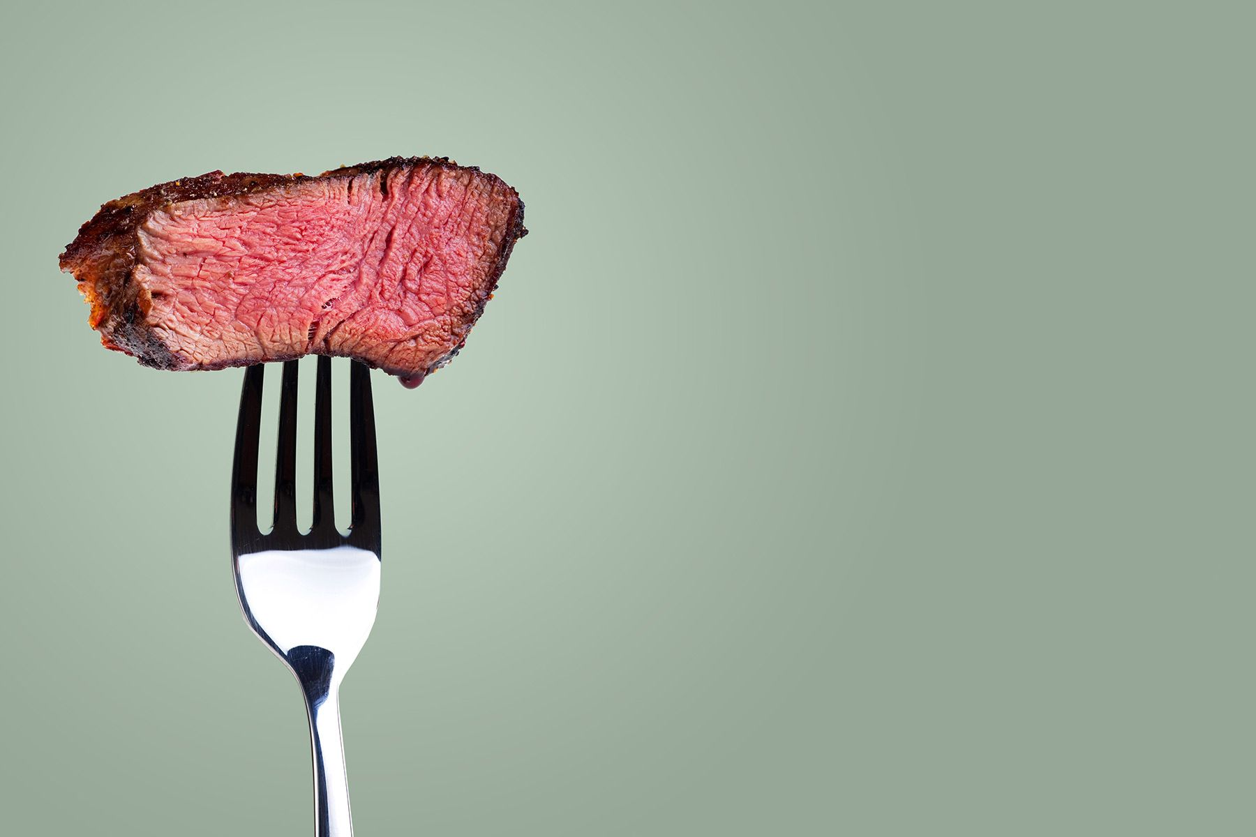 Relax, meat might not kill you after all
