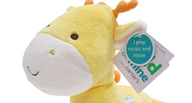 carters plush toy