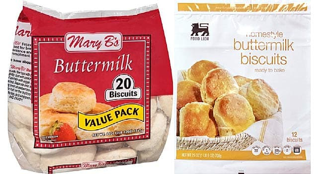 Voluntary recall on frozen biscuits sold in SC due to health risk