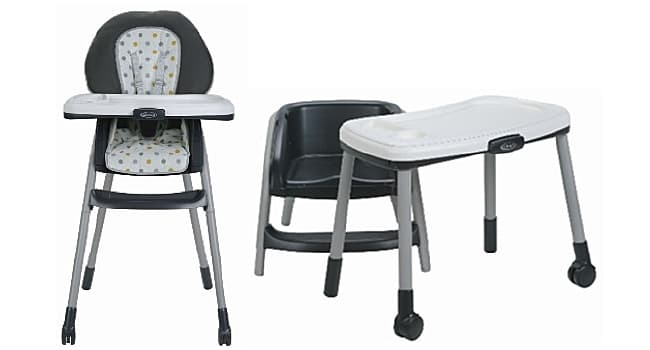 Recall: Graco 6-in-1 Highchair