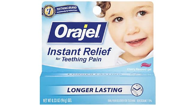 FDA warns benzocaine teething products aren't safe for kids