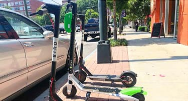 E-scooters': Zooming Can End in Scrapes, Breaks