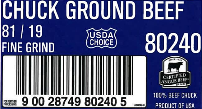 Ground beef recall due to E. coli contamination
