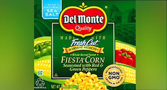 photo of del monte canned fiesta corn