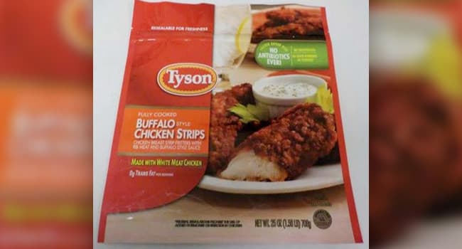 photo of Tyson chicken