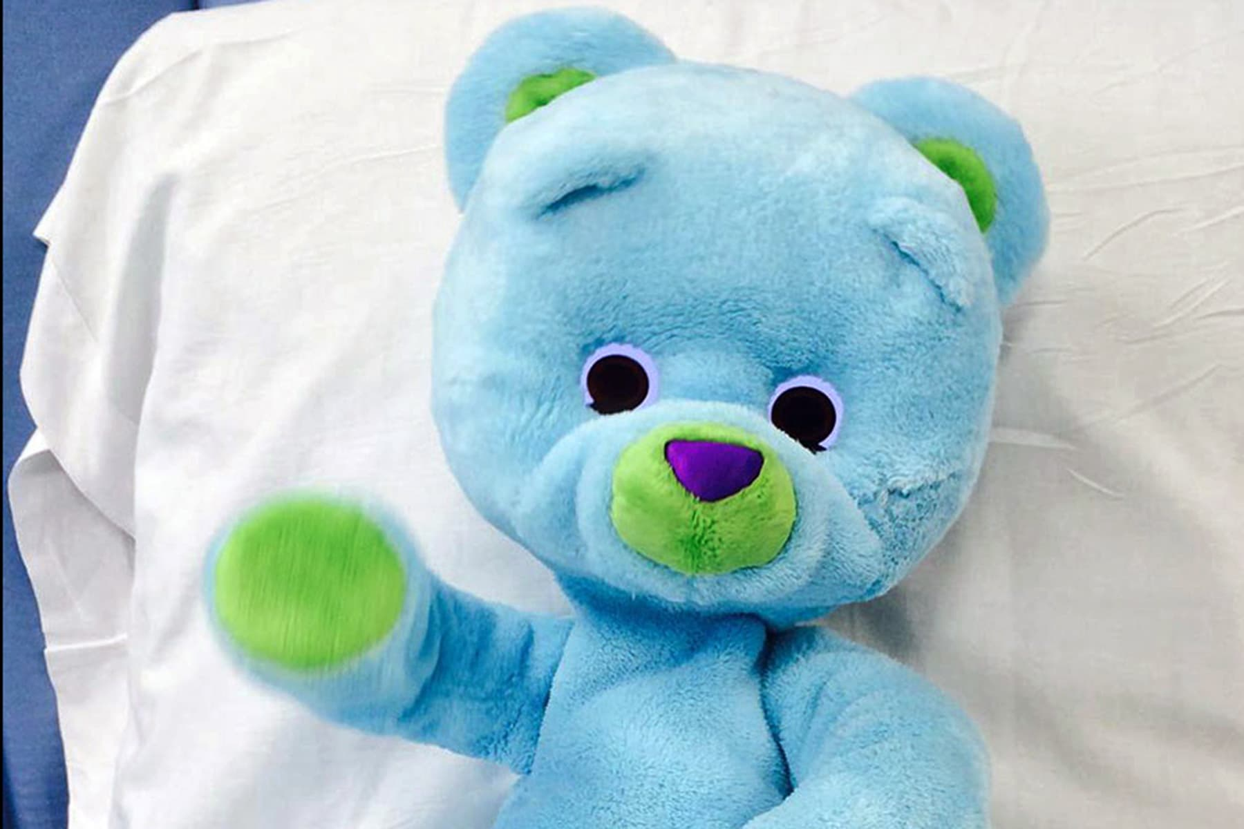 bear companion robot for sick children
