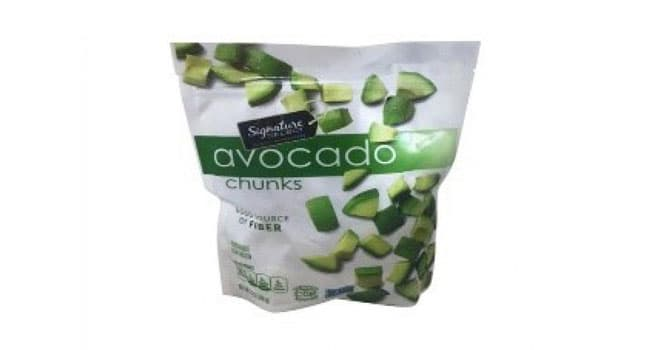 photo of recalled avocado chunks