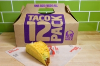 photo of taco bell tacos