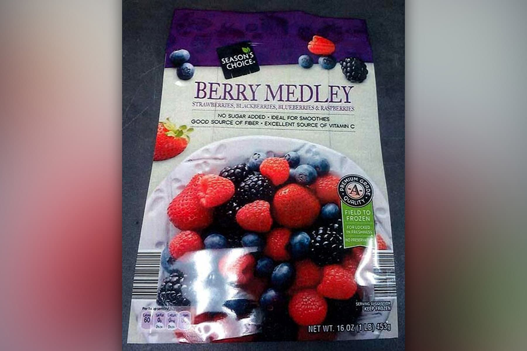 Recall: Frozen Berries Sold at Aldi and Raley's