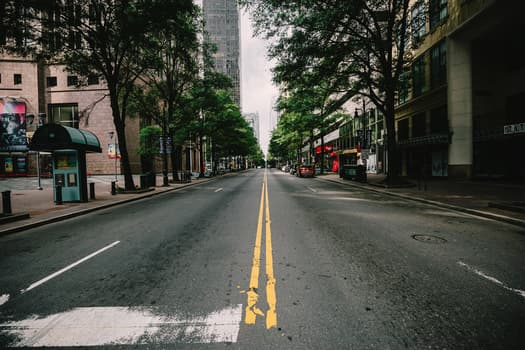 photo of empty street