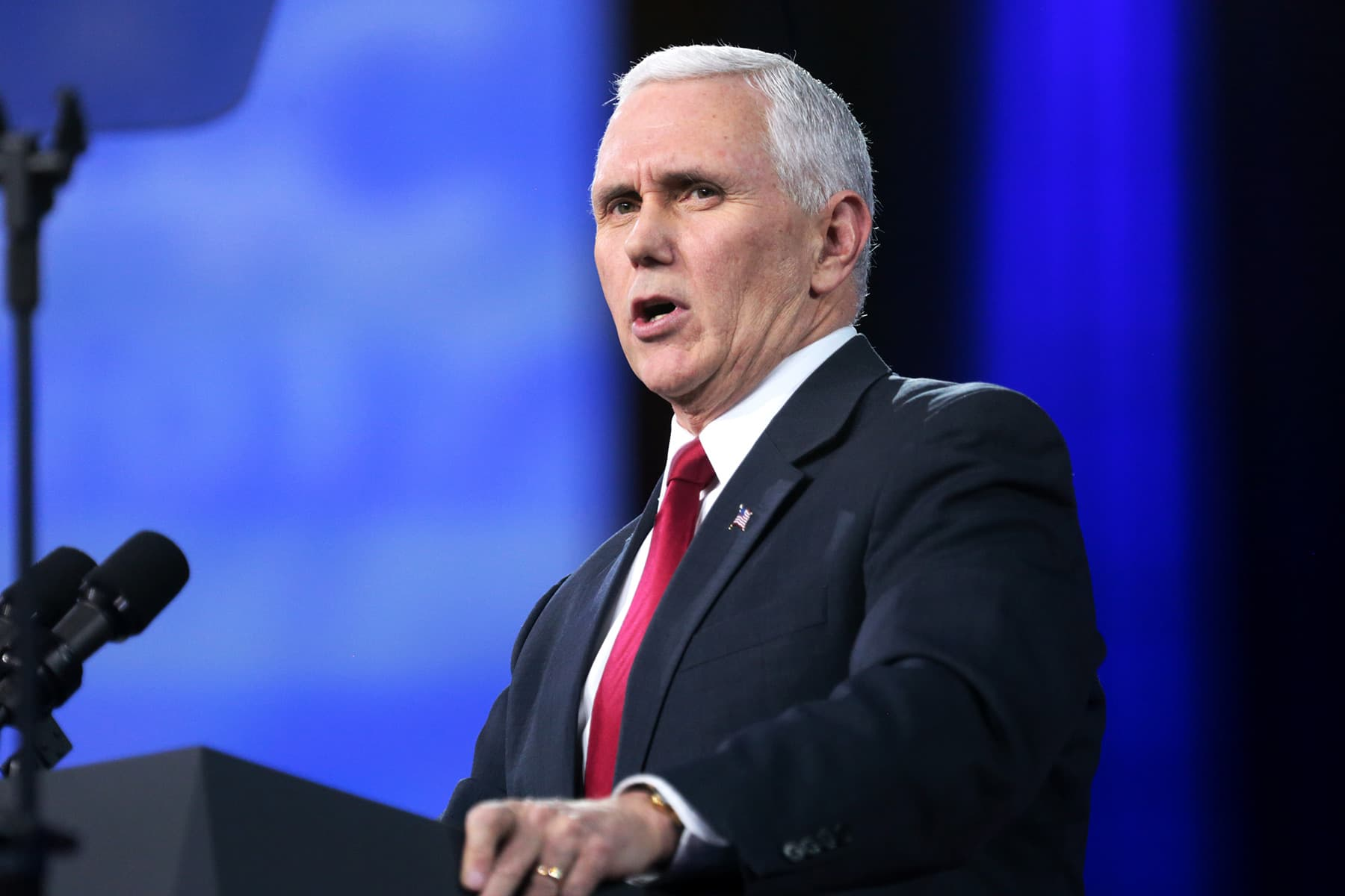 Several Aides to VP Pence Test Positive