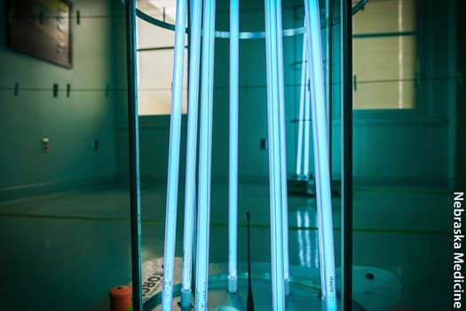 photo of uv light rods