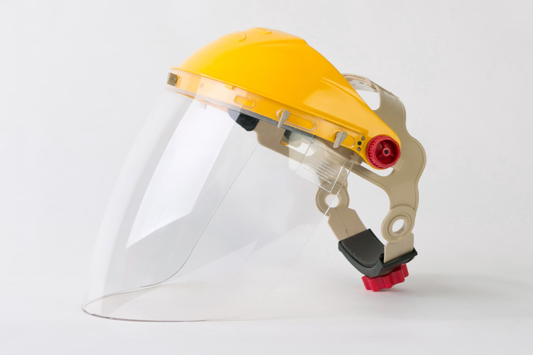 photo of face shield