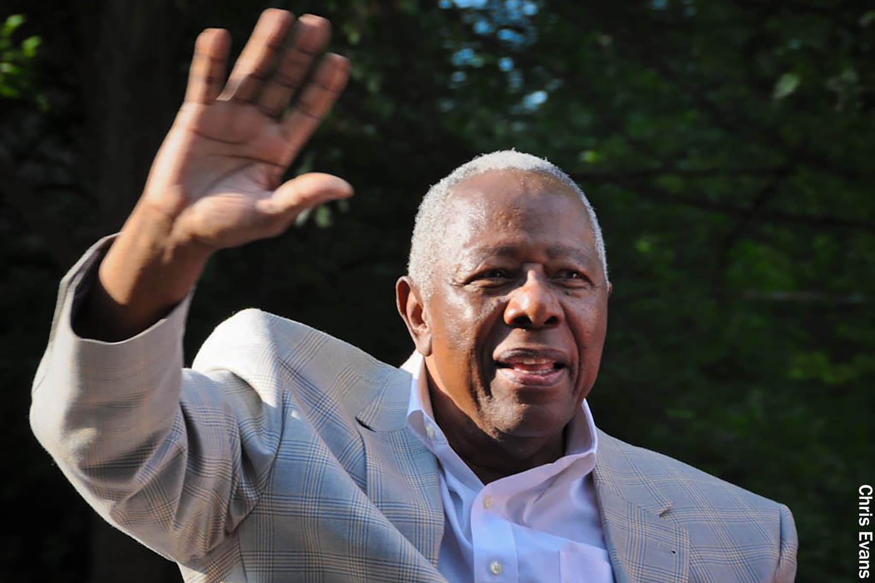 photo of hank aaron
