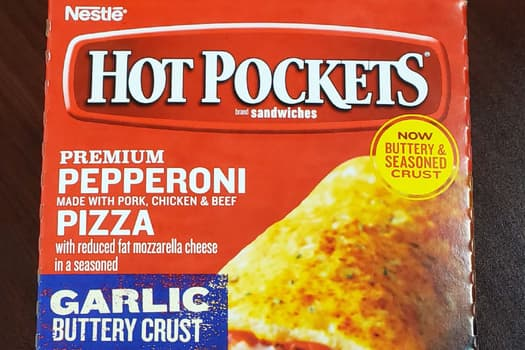 photo of hot pockets packaging