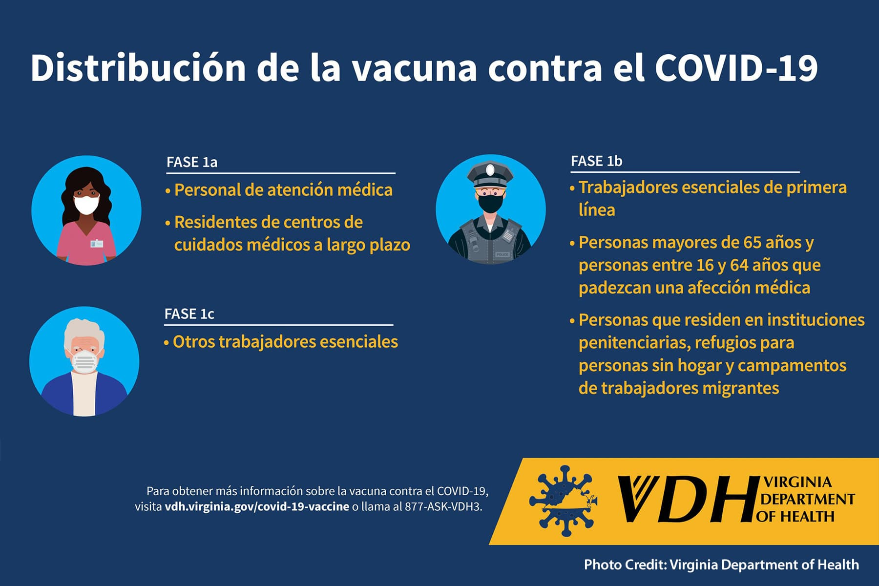 spanish language covid information