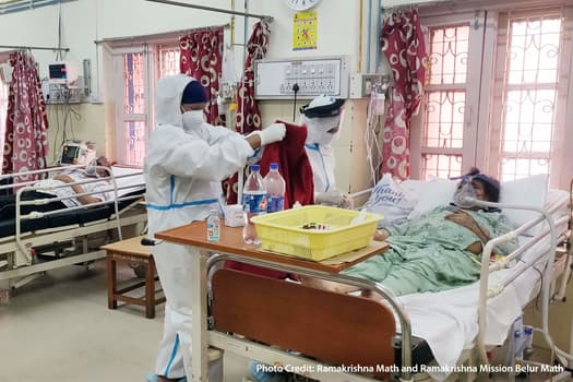 photo of hospital room in india