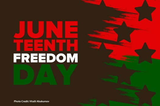 photo of juneteenth freedom day poster