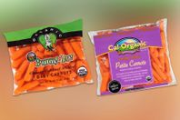 photo of carrot labels