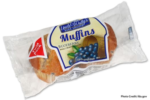 photo of wally's muffin recall