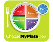 Food Pyramid Replacement - MyPlate: The USDA's Food
