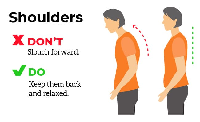 exercises shoulders infographic