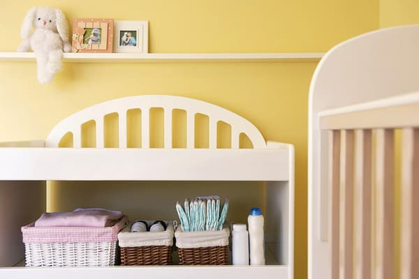 photo of baby nursery