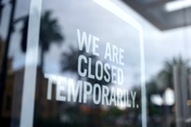 photo of closed business