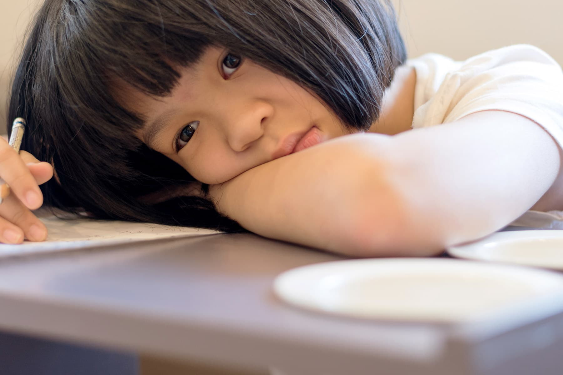 photo of girl with adhd