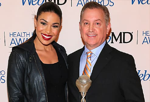 Jordan Sparks with Frank Papay MD