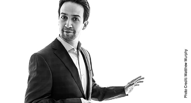 lin manuel miranda white background