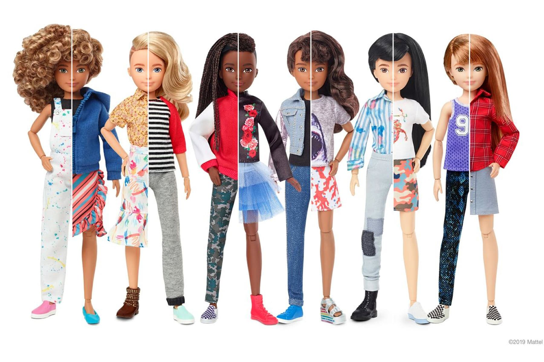 Mattel Offers Gender-Inclusive Doll Collection