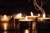 photo of group of candles burning